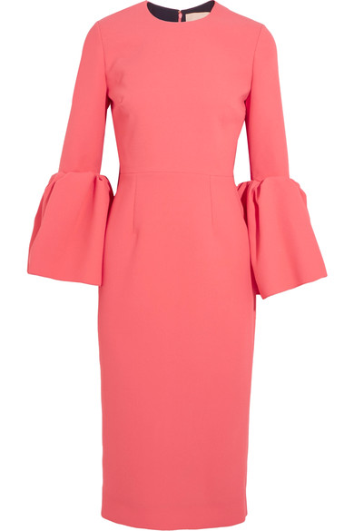 Roksanda Margot big sleeves dress