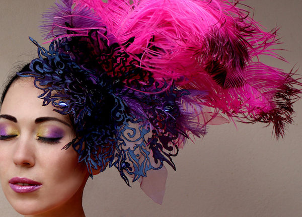 feather fashion accessories