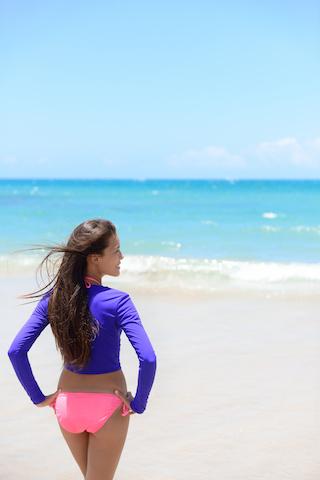 long-sleeved swimsuit wingz