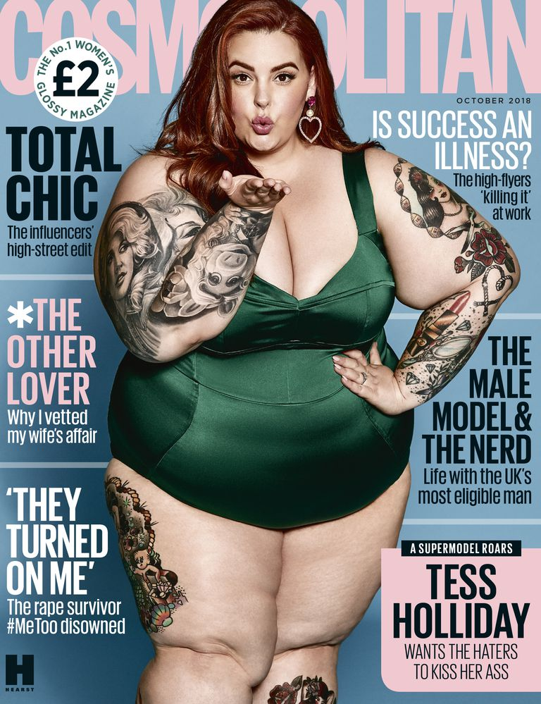 Tess Holliday cosmopolitan